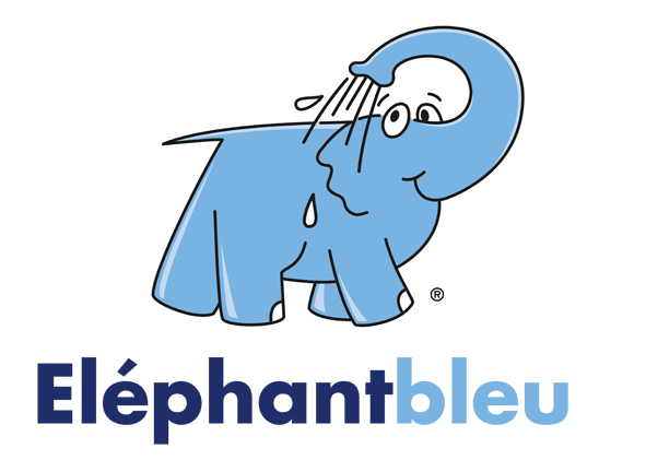 Logo Elephant Bleu