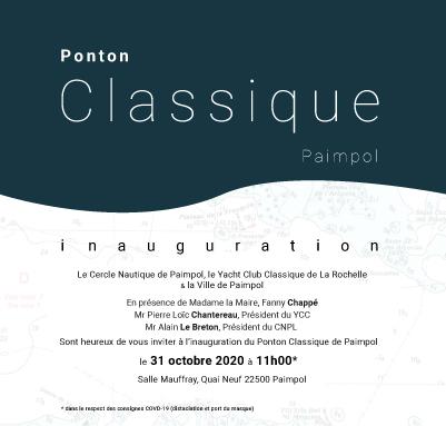 Inauguration du ponton classique de Paimpol